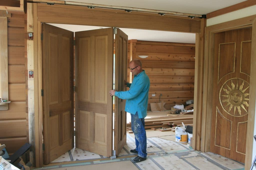 Изготовление двери-книжки своими руками