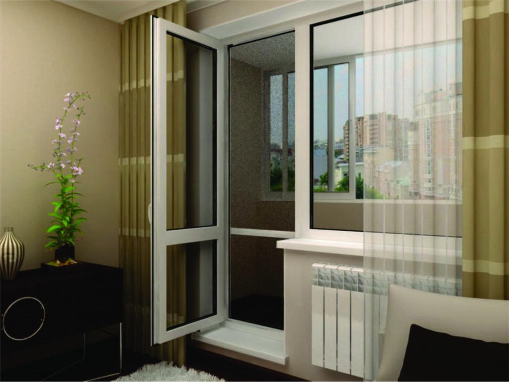 Ремонт пластиковых дверей балкона своими руками.