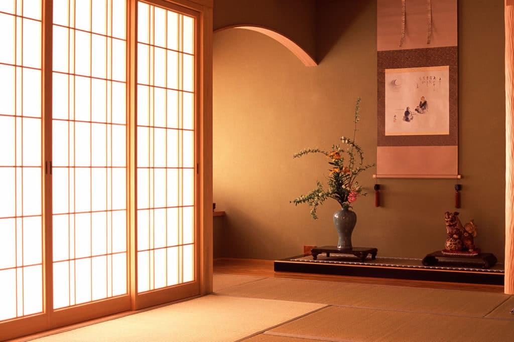 Современные двери в японском стиле