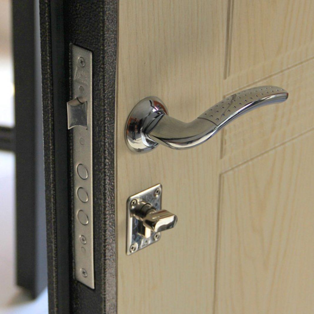 двери на бабушкинской железные