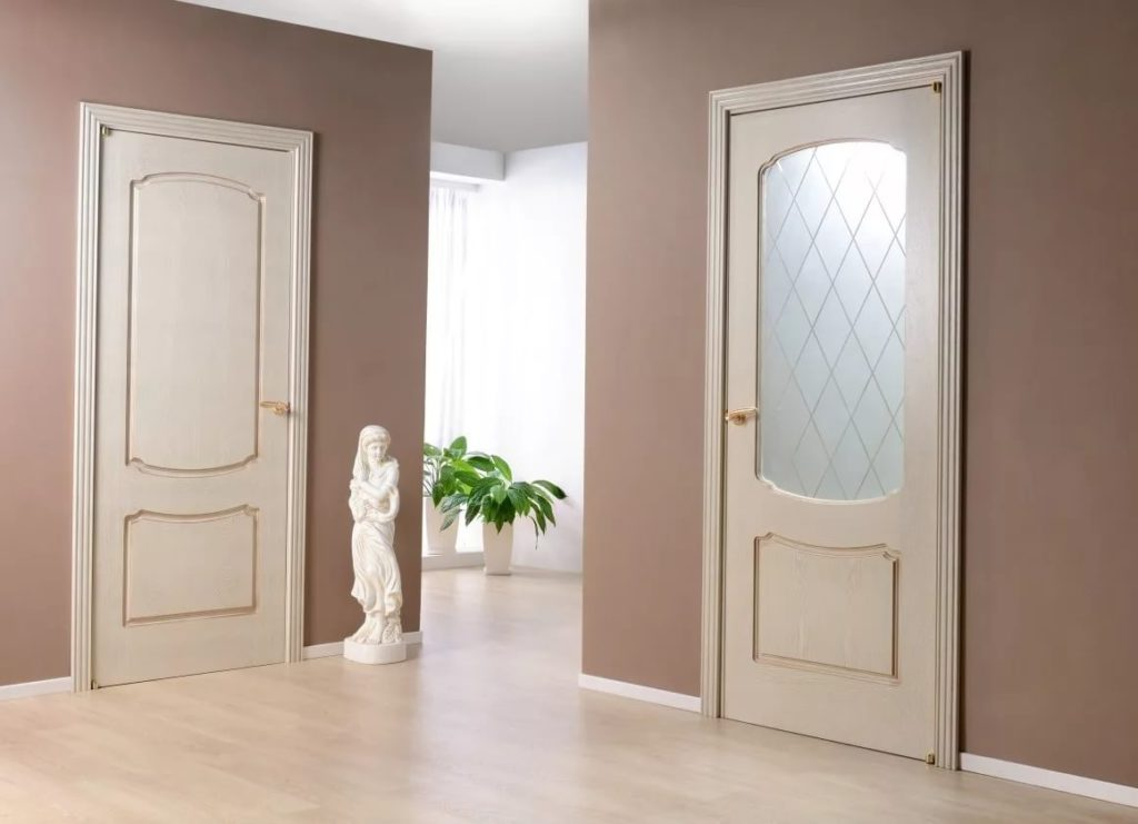 Сочетание межкомнатных дверей в интерьере