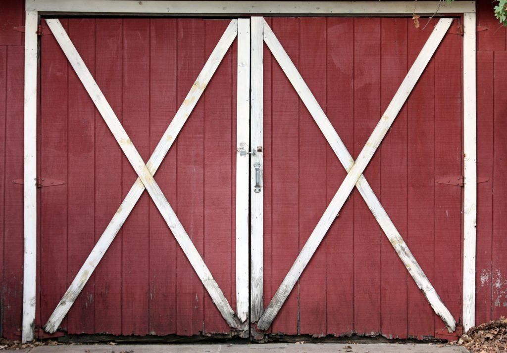 Дверь в сарай