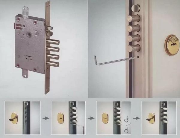 Как отремонтировать самому замок в металлической входной двери